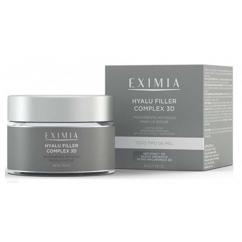 Eximia Hyalu Filler Complex 3D de Noche Antiedad X 50 gr