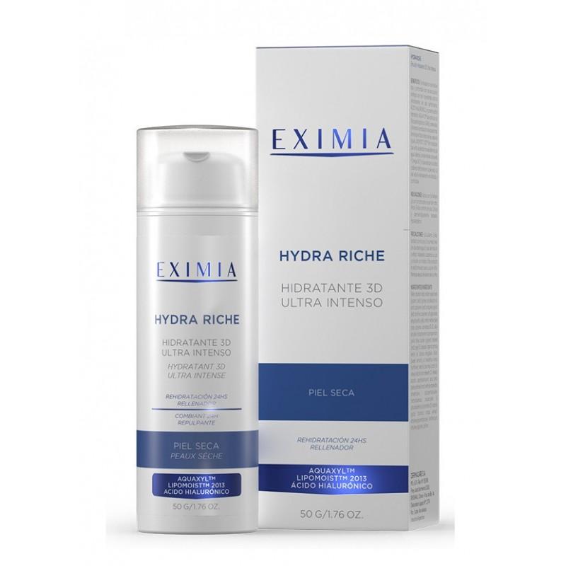 Hydra Riche 3D Ultra Intenso Para Pieles Secas x 50 ml De Eximia