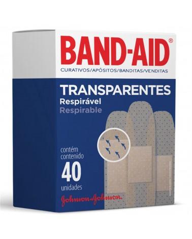 Apósitos Transparentes Band-Aid x 40 un