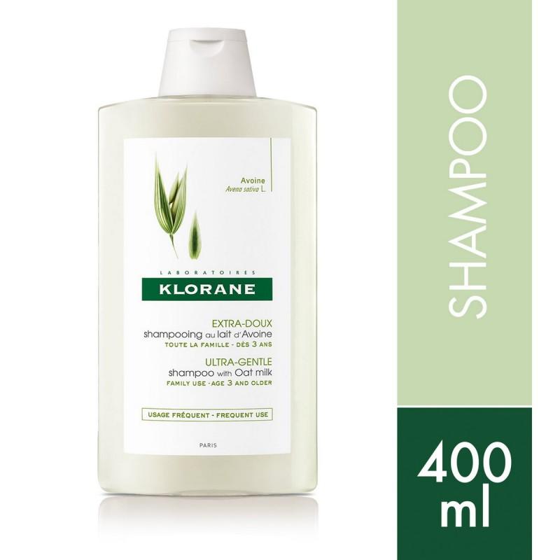 Shampoo Extrasuave Protector Leche De Avena x 400 ml De Klorane
