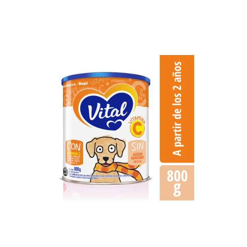 Leche Infantil En Polvo Con Vitamina C Vital x 800 Gr