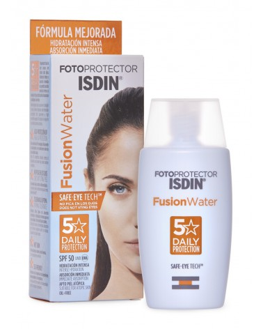 Fotoprotector Fusion Water Spf 50 Isdin x 50 ml