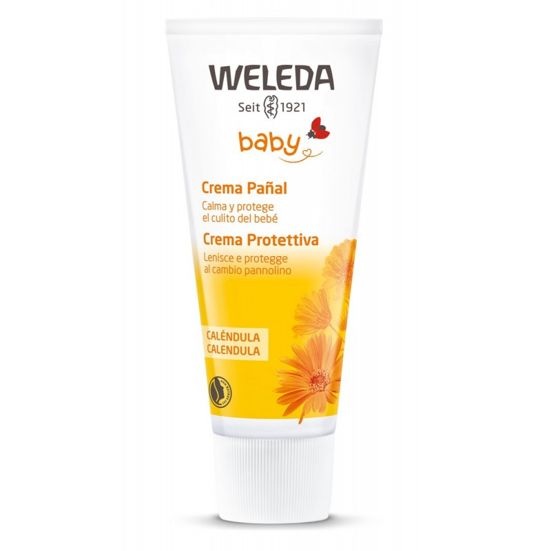Crema pañal de calendula Weleda