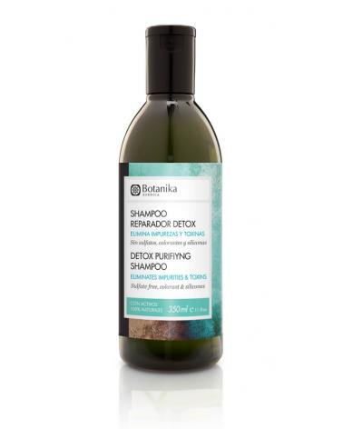 Shampoo Reparador Sin Sulfatos Detox Botanika x 350 ml