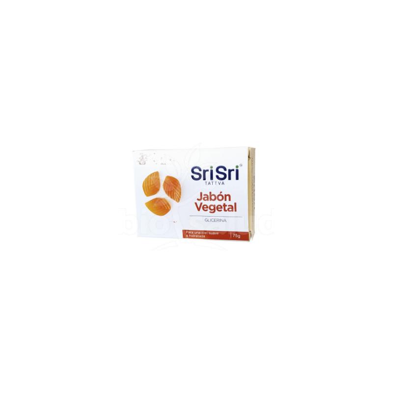 Jabón Vegetal Glicerina Sri Sri Tattva x 75 Gr