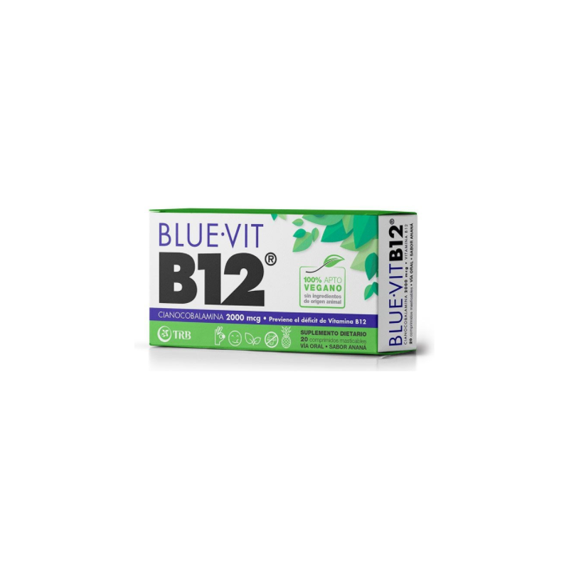 Suplemento Dietario Blue Vit B12 x 20 Com