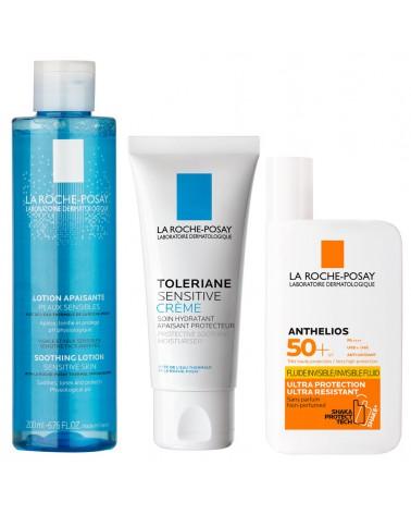 Tonico Suavizante x 200 ml & Toleriane Sensitive x 40 ml & Anthelios Fluido FPS 50 x 50 ml