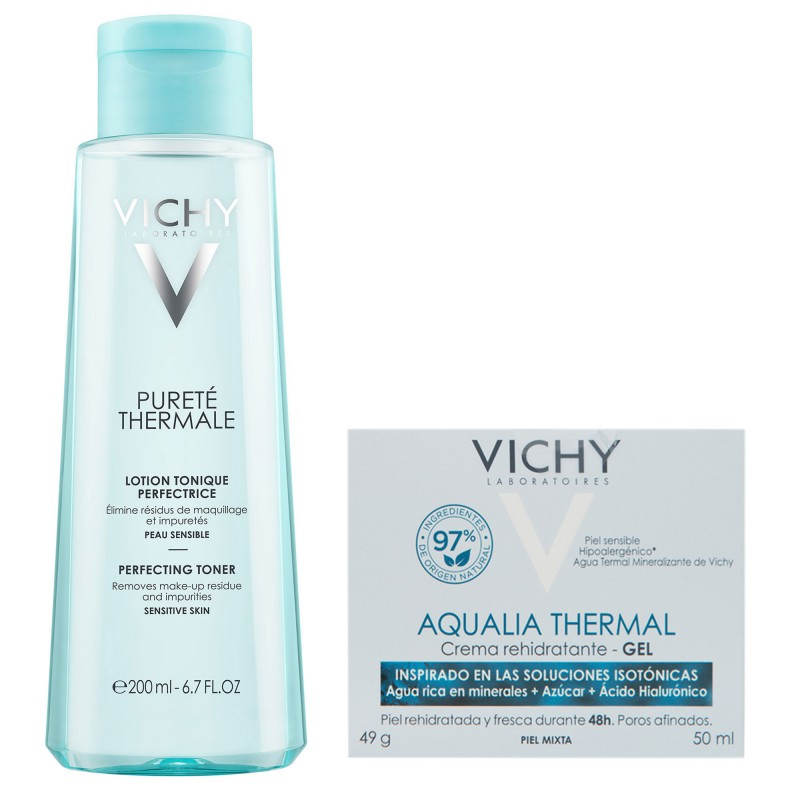 Purete Thermale Tonico x 200 ml & Aqualia Thermal Gel Hidratante x 50ml