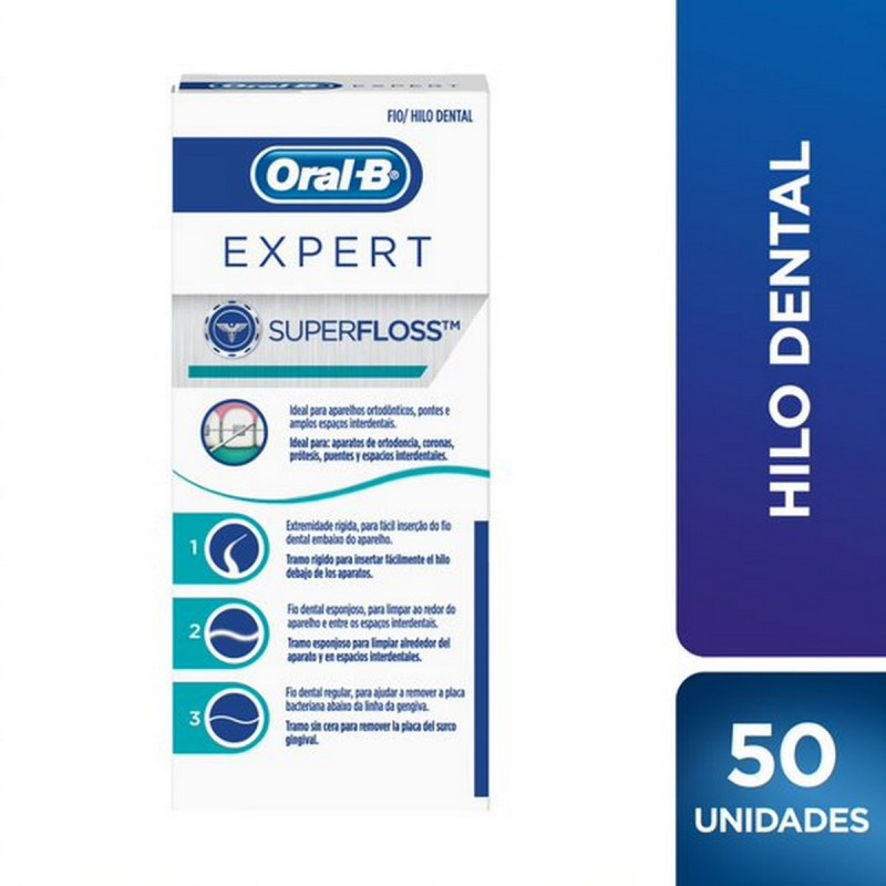 ORAL B HILO SUPER FLOSS X50