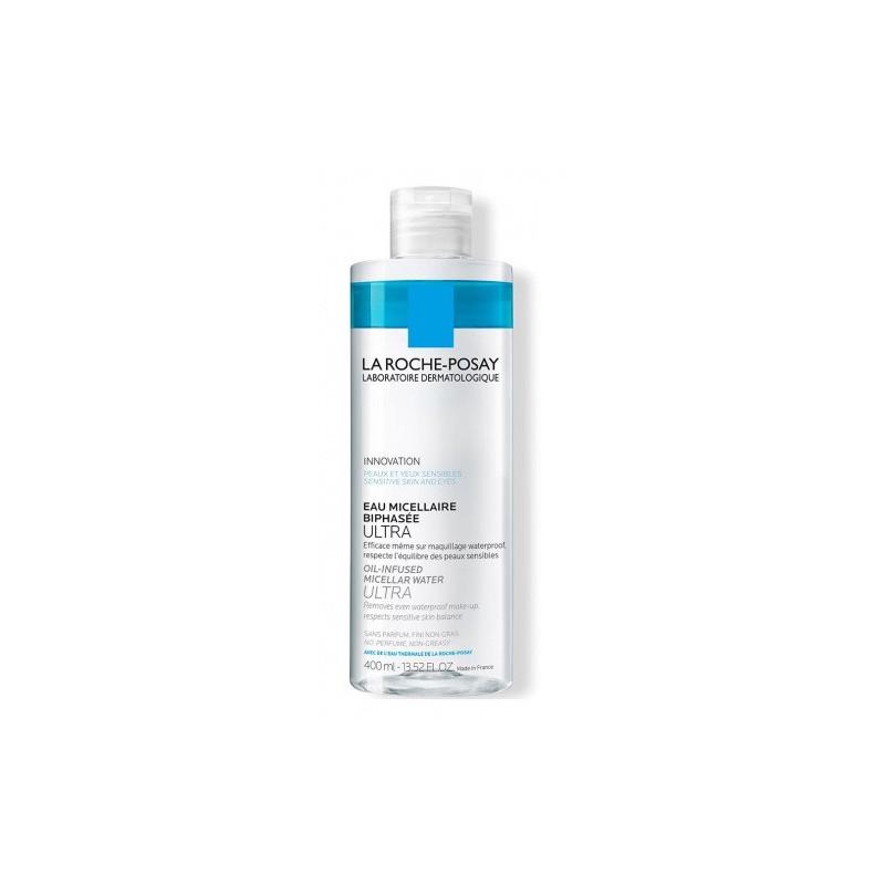 Agua Micelar Bifásica de Piel Ultra Sensible  La Roche-Posay x 400 ml