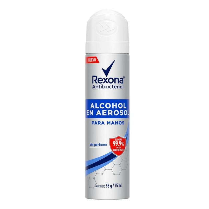 Alcohol Etílico Neutro Aerosol Rexona x 75 ml