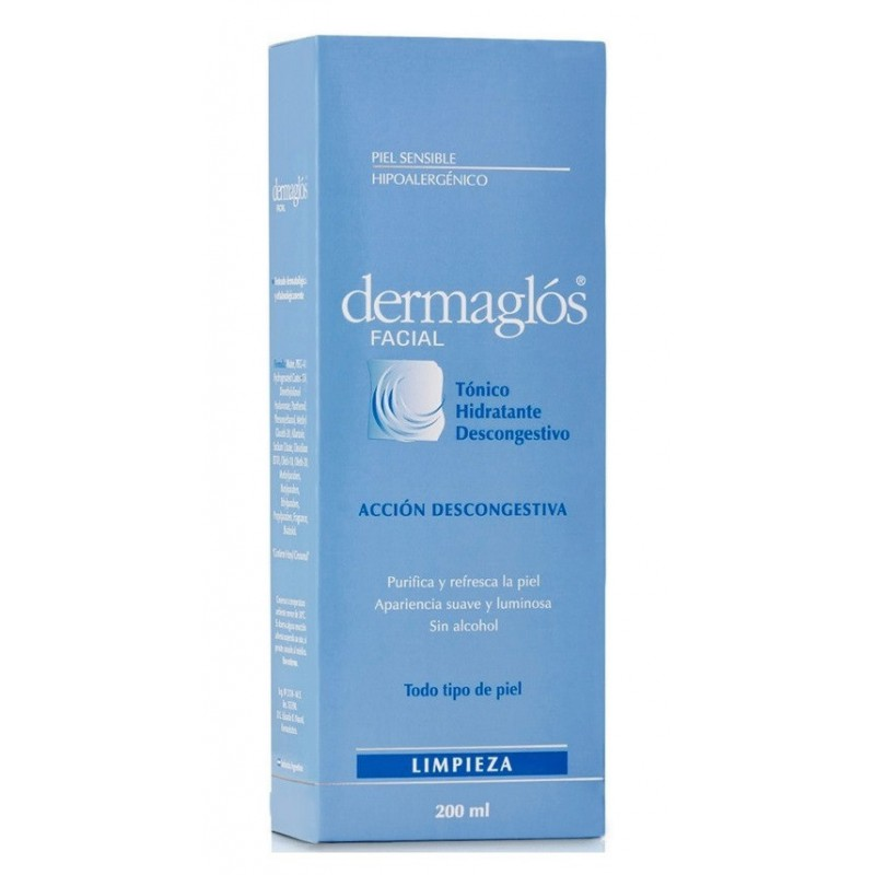 Tonico Facial Hidratante Descongestivo x 200 ml