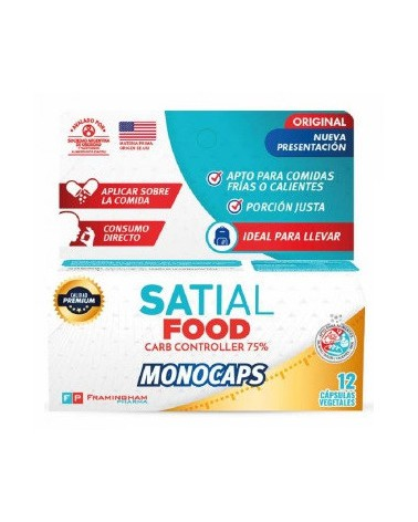 Suplemento Satial Food x 12 Monocaps