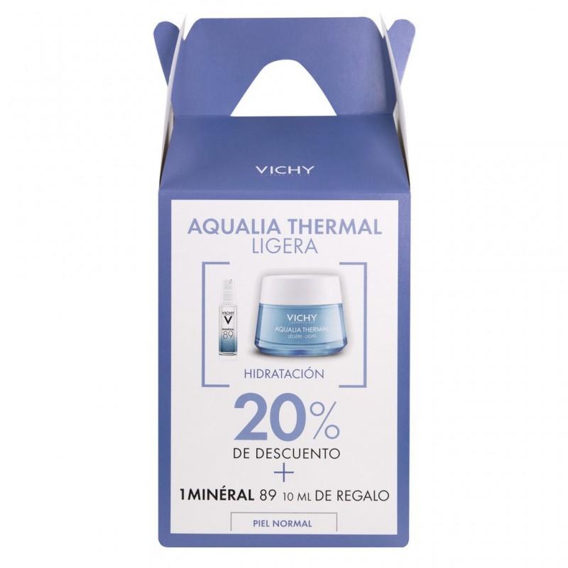 Bom Renová tu Rutina Aqualia Thermal Ligera Hidratante Vichy x 50 ML