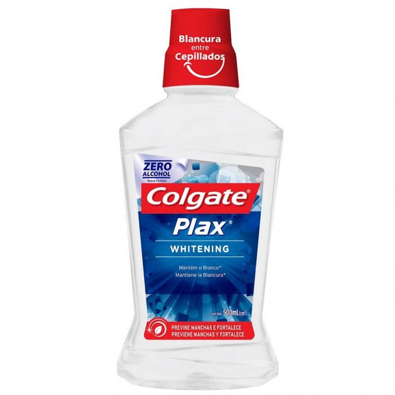 Enjuague Bucal Plax Whitening x 500 ml