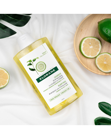Shampoo Energia Y Brillo Con Sidra X 200 Ml De Klorane