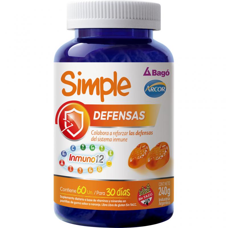 SIMPLE DEFENSAS pastillas de g