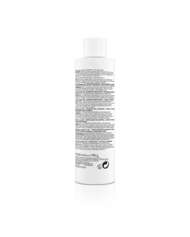 Dercos Shampoo Anticaspa Para El Cabello Seco Vichy Bom x 200 ml
