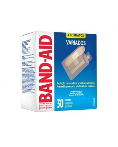Apósitos Transparentes Variados Band - Aid x 30 Un