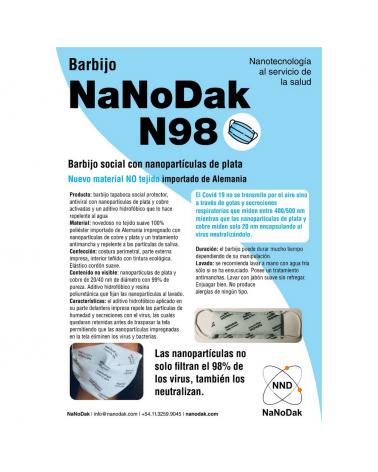 BARBIJO NANODAK GRIS N98