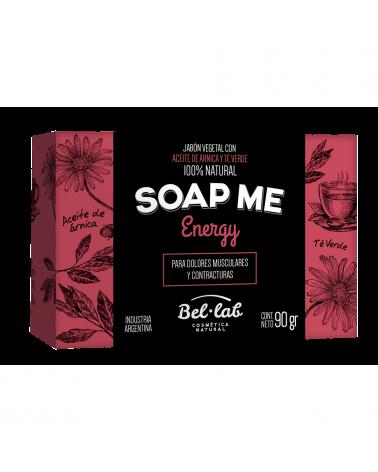 Jabón Vegetal Soap Me Energy Bel - Lab x 90 Gr