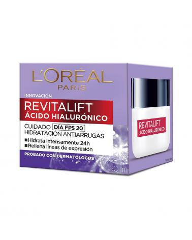 Revitalift Crema de Día Ácido Hialurónico L`Oreal  x 50 Ml