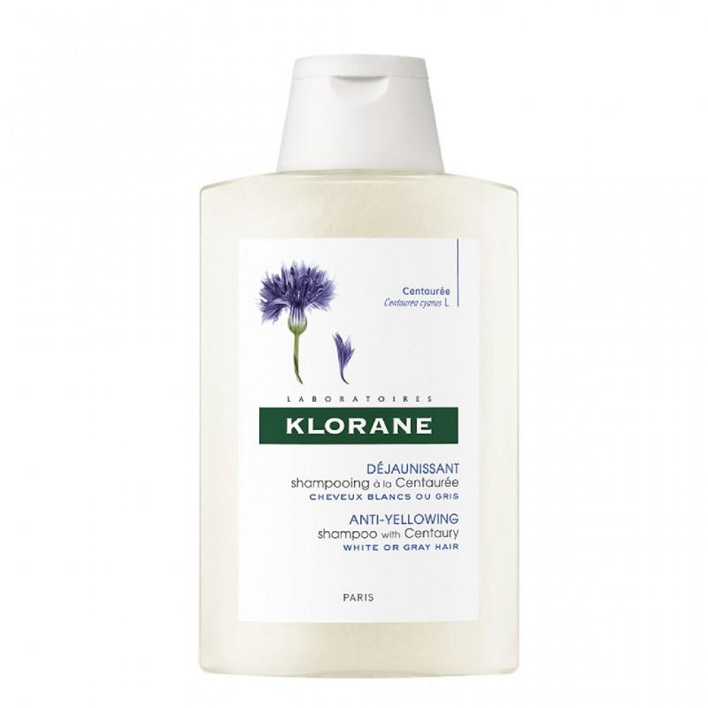Shampoo Sublimacion De Brillo De Centaurea X 200 Ml De Klorane