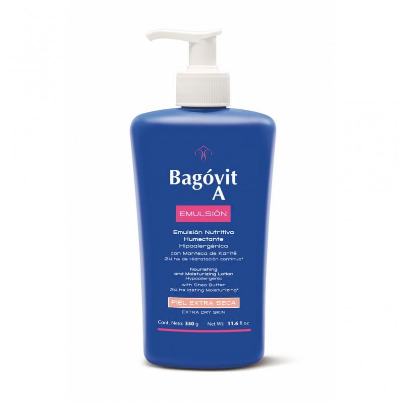 Emulsion Piel Extra Seca Bagovit A x 350 grs