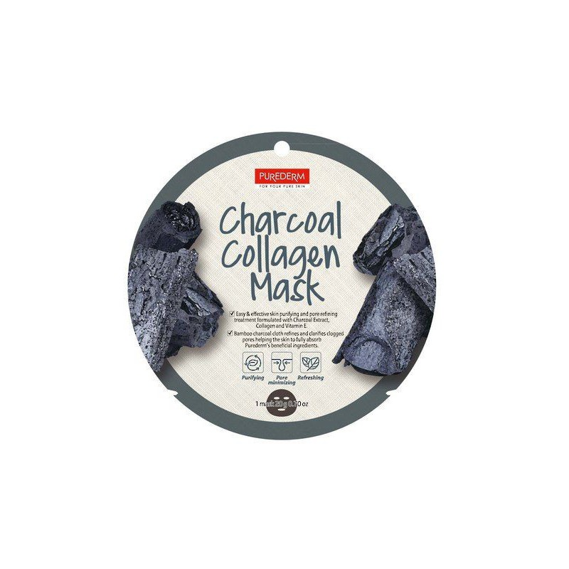 PUREDERM MASK CHARCOAL COLLAGE