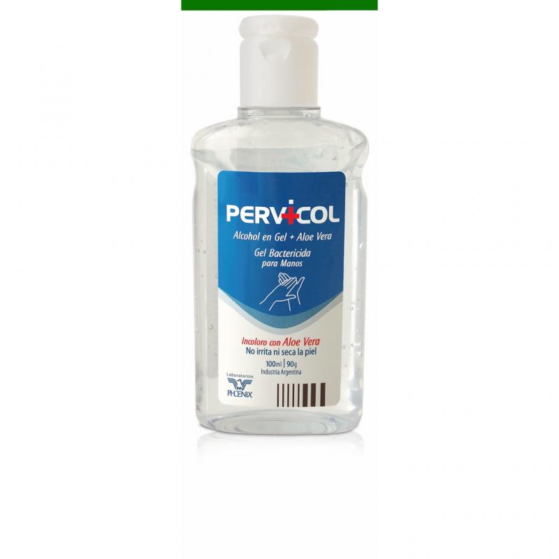 Pervicol Alcohol en gel incoloro x 100 ml