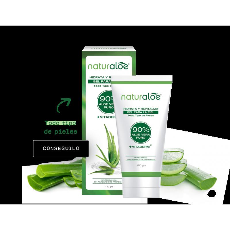 Naturaloe Gel Para La Piel Hidrata Y Regenera 150grs