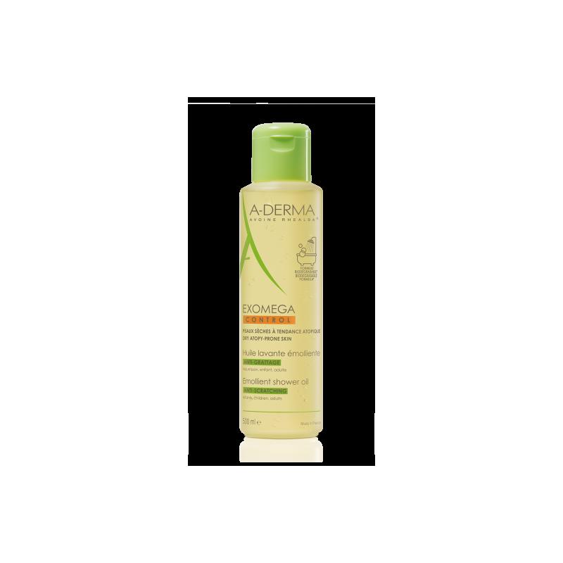 A-Derma Aceite Exomega Control Limpiador Emoliente 200 ml