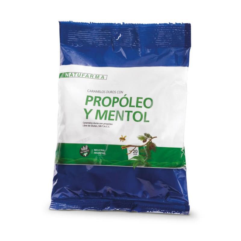 Natufarma Caramelos con Propoleo y Mentol X 20 un