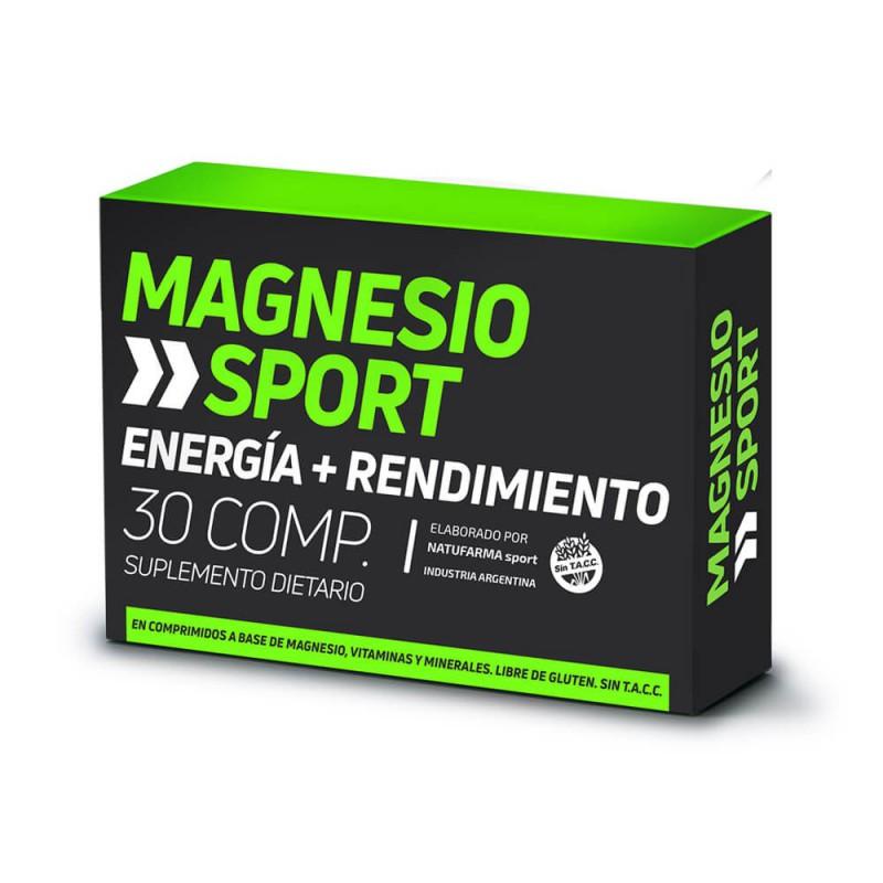 Natufarma Magnesio Sport x 30 comp