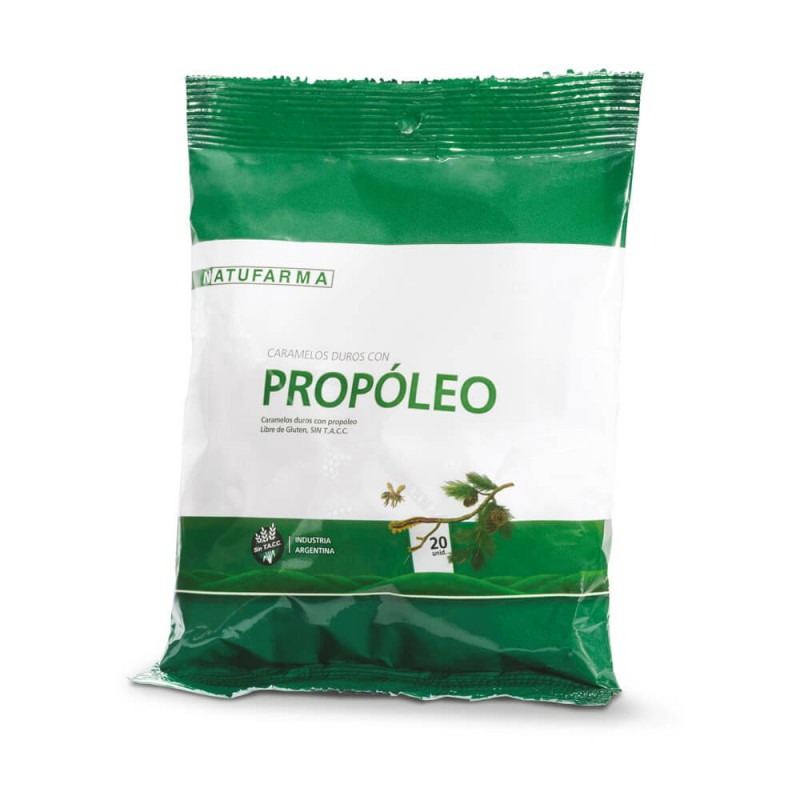 Natufarma Caramelos Duros con Propoleo X 20 Un