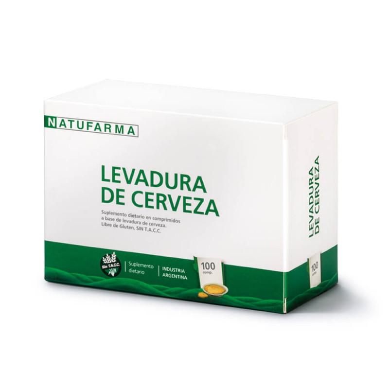 Natufarma Levadura de Cerveza x 100 comp