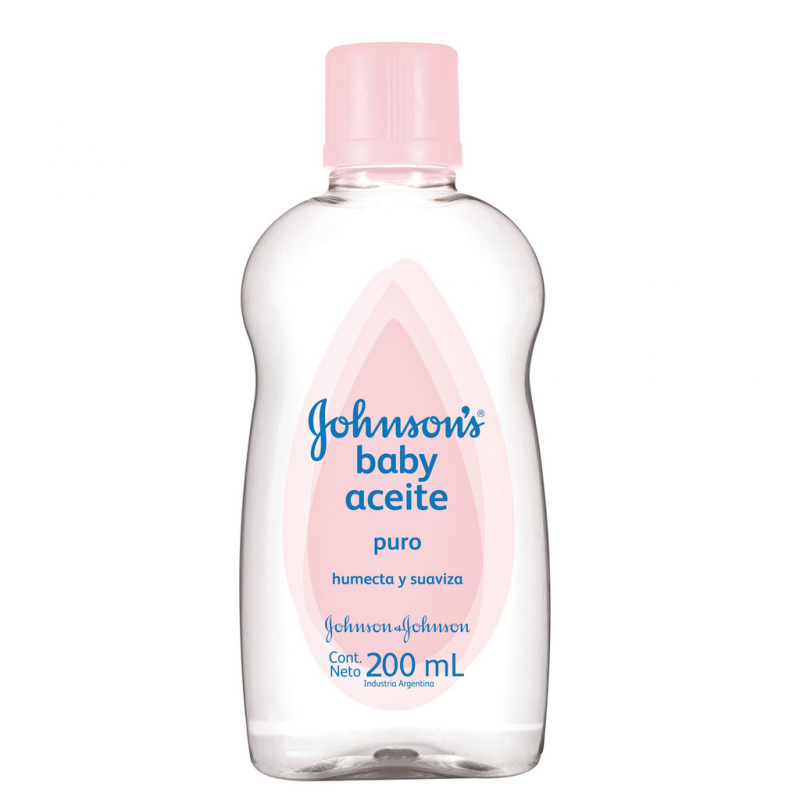 Aceite Johnson's Baby puro x 200 ml