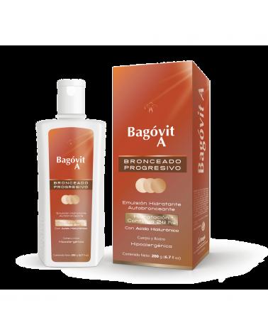 Emulsion Hidratante Autobronceante Bagovit A x 200 Grs