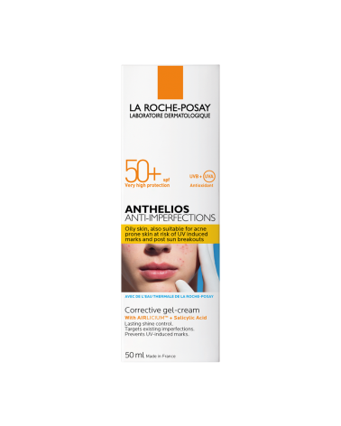 Anthelios Anti-Imperfecciones Spf 50+ X 50 Ml De La Roche-Posay