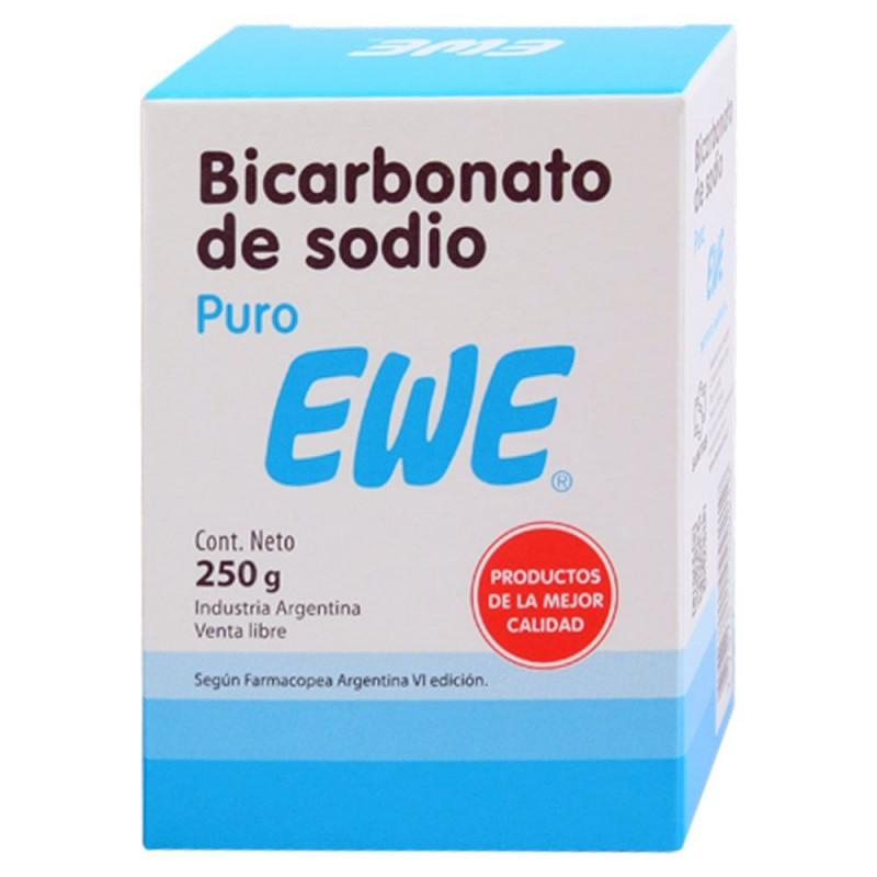 Bicarbonato de Sodio Puro Ewe x 250 gr