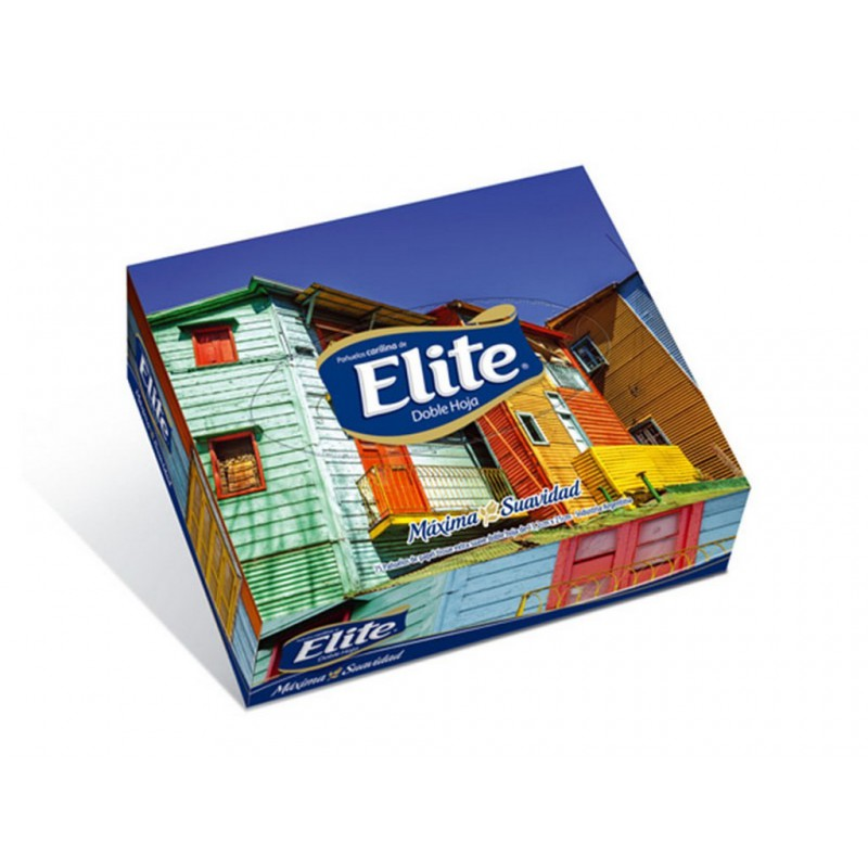 Carilinas Faciales Elite Plus Box x 75 un