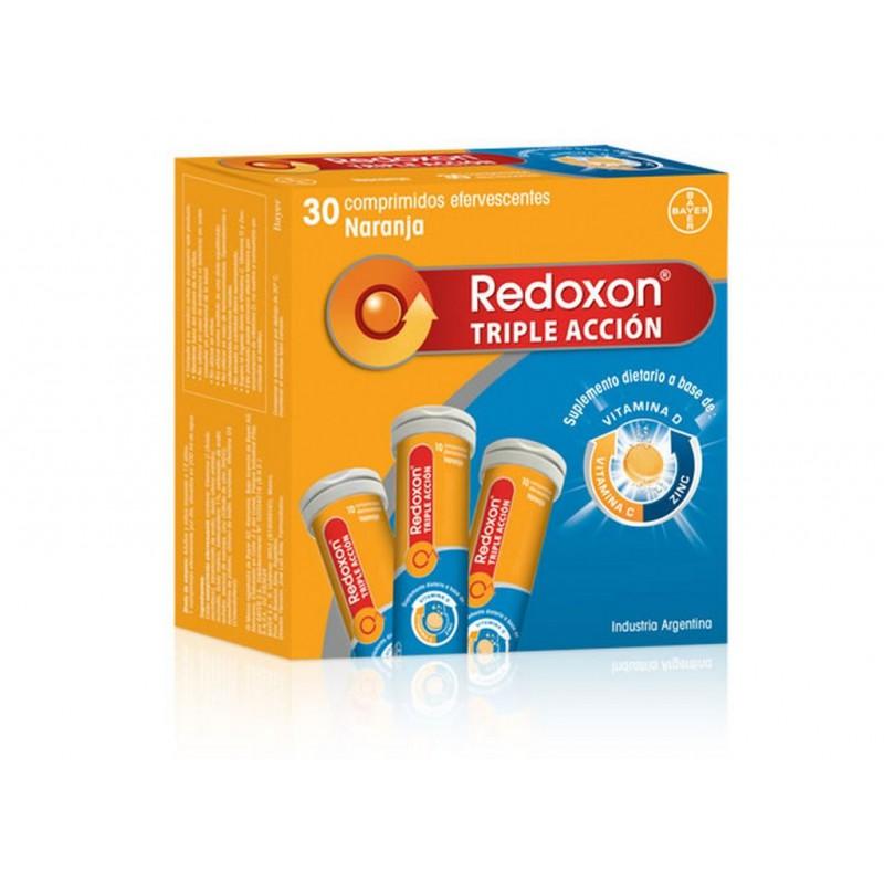 Triple Acción Comprimidos Efervescentes Redoxon x 30 Un