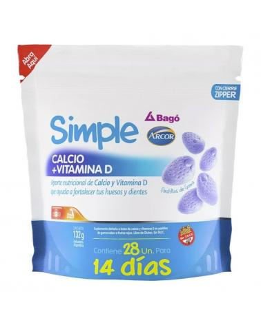 SIMPLE CALCIO + VITA D doy pac