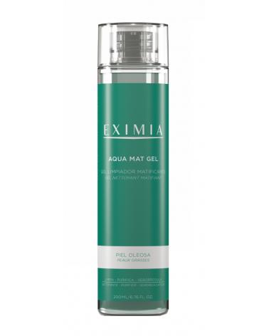 Aqua Mat Gel Limpiador Matificante Eximia x 200 ml