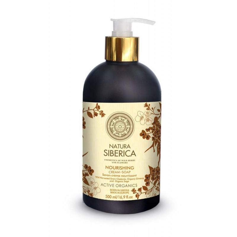 Jabón líquido de manos Nutritivo Natura Siberica x 500 ml