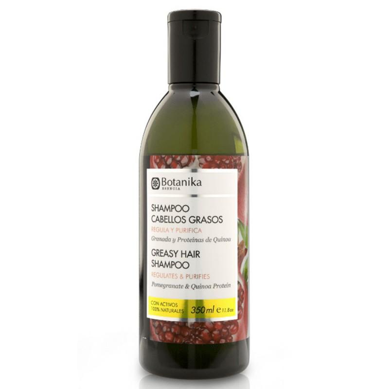 Shampoo Cabellos Grasos Botanika x 350 ml