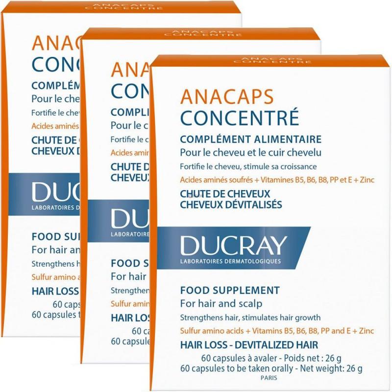 Anacaps Concentrado Anti-caída 3x2 Ducray x 180 Capsulas