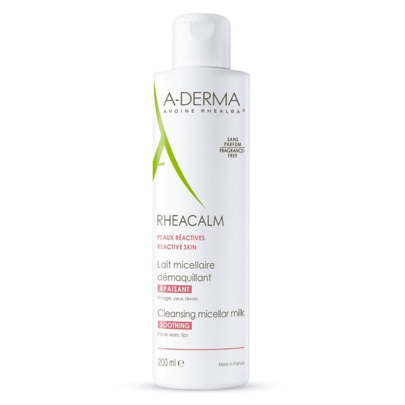 Leche Micelar Rehacalm Calmante Piel Reactiva A-Derma x 200 ml