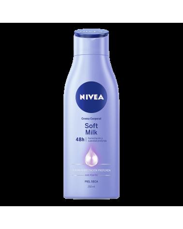 Crema Corporal Nivea Soft Milk Piel Seca x 250 ml
