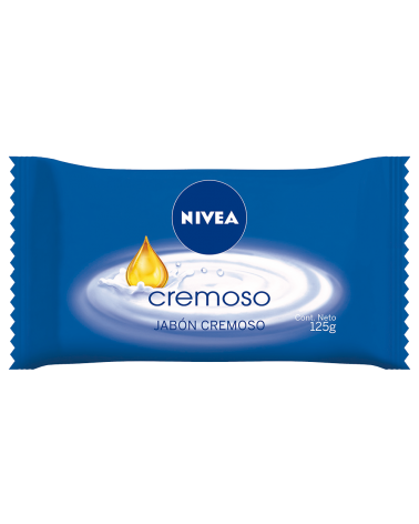 NIVEA JABON CREMOSO X125GR